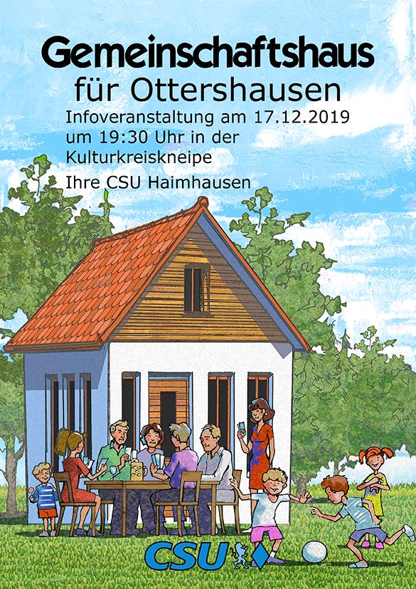 Gemeinschaftshaus für Ottershausen